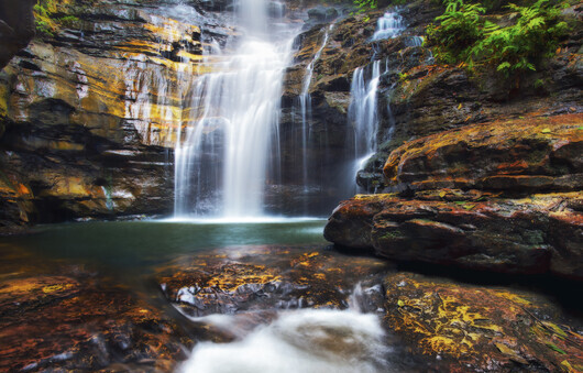 Empress Falls in the Blue Mountains.