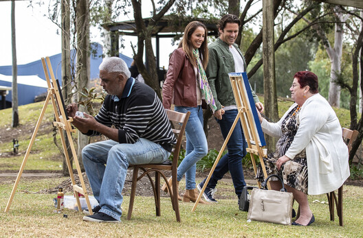 local Aboriginal artists on the Wanuruah art trail in the Hunter Valley