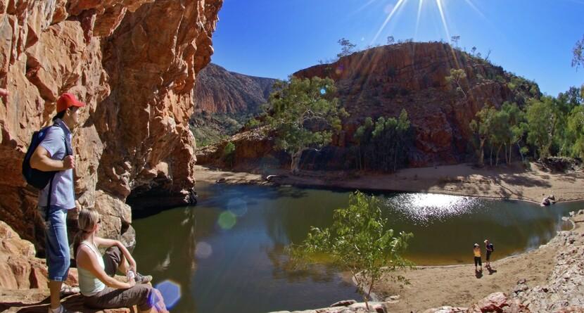 The-stunning-Ormiston-Gorge