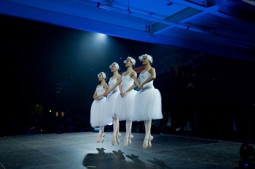 a ballet performance at the Sydney Opera House.
